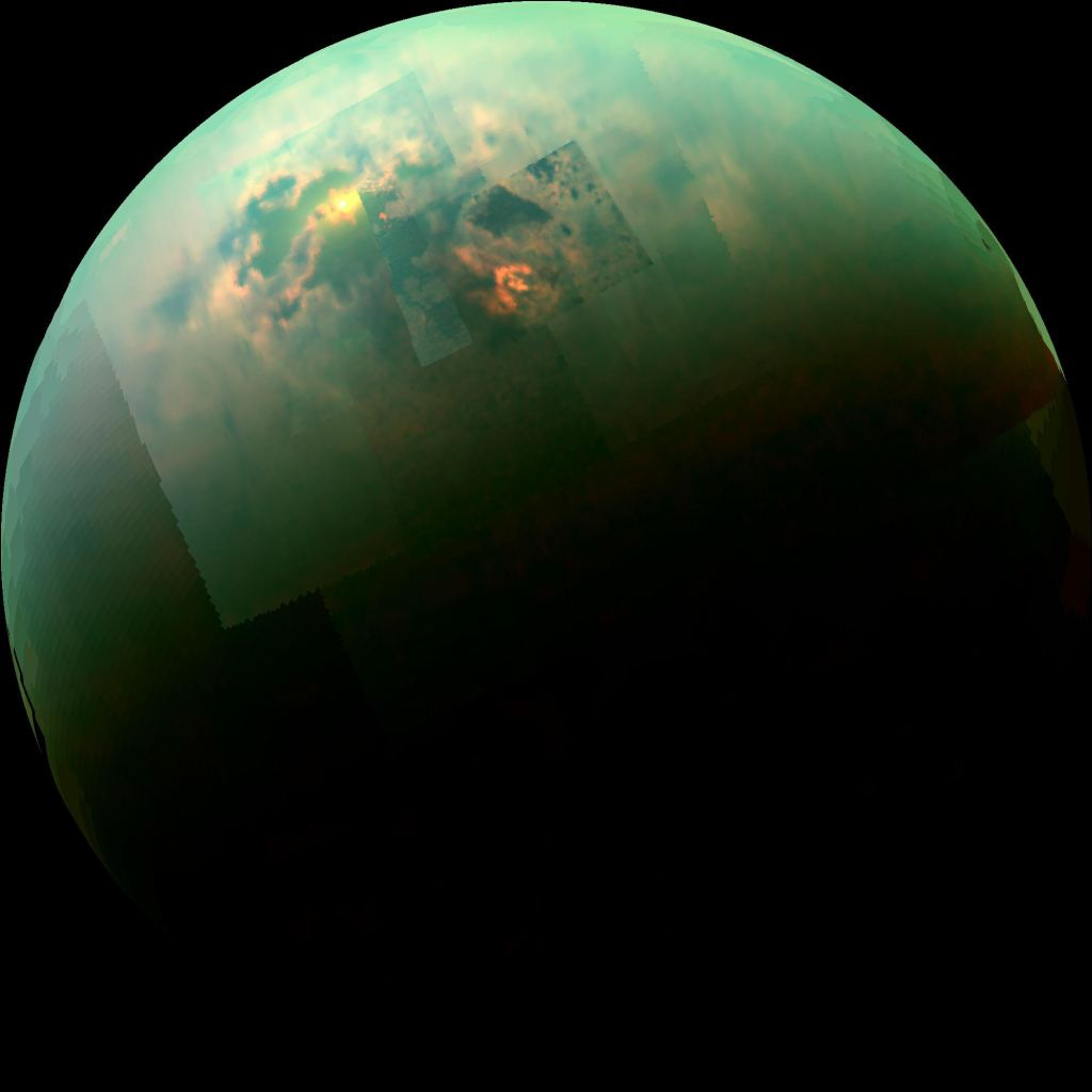 "Methane-Filled Lakes on Titan are ""Remarkably Deep"""