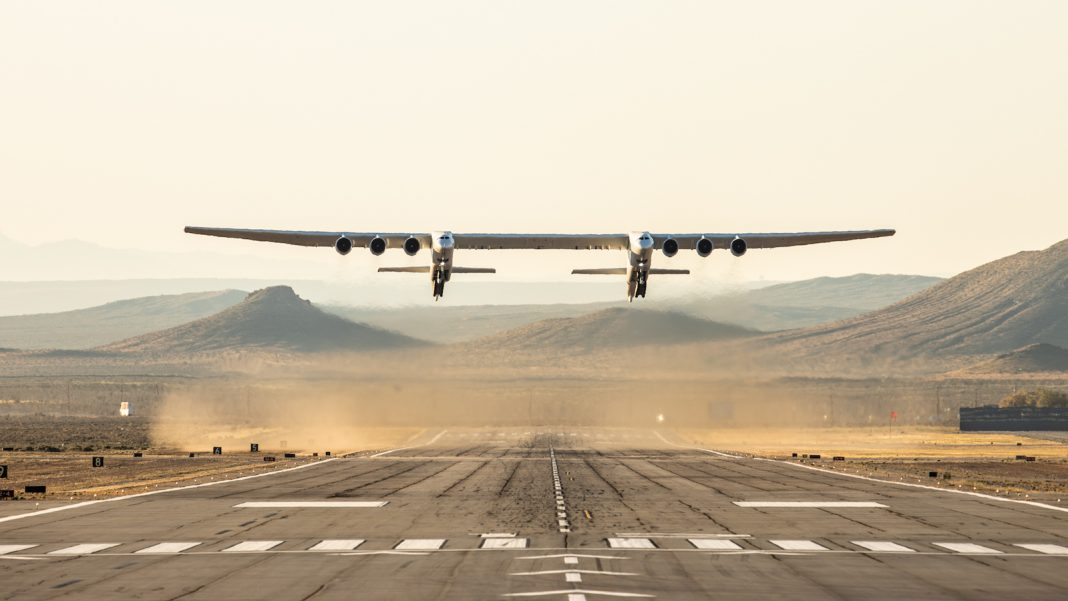 The World's Most significant Airplane– the Rocket-Launching Stratolaunch– Finishes its First Test Flight