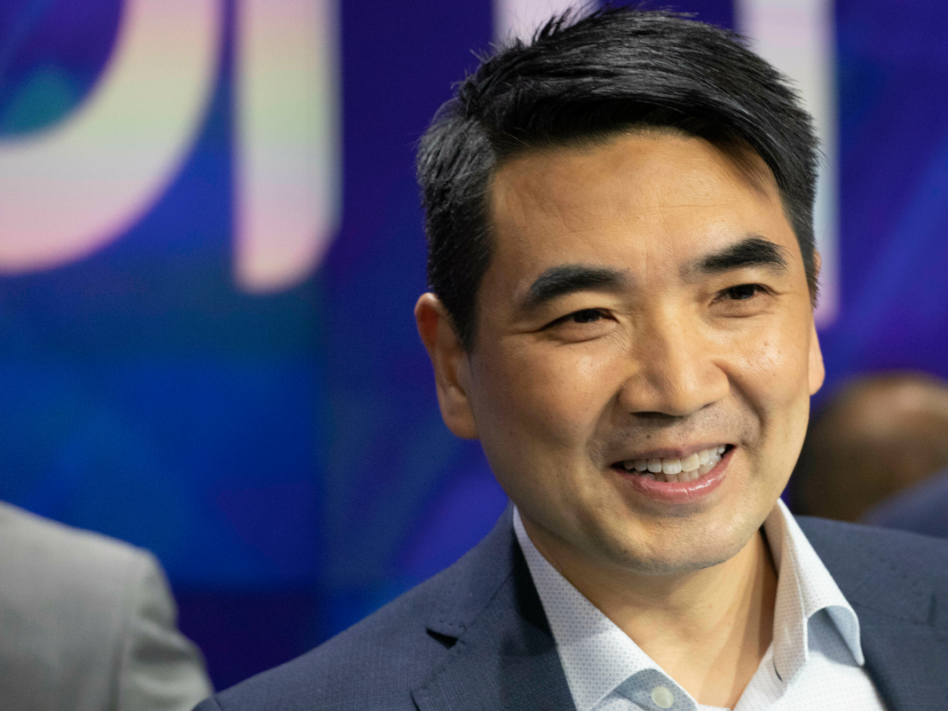 Zoom's stock skyrocketed in the video-conferencing business's public trading launching, making CEO Eric Yuan a billionaire (ZOOM)