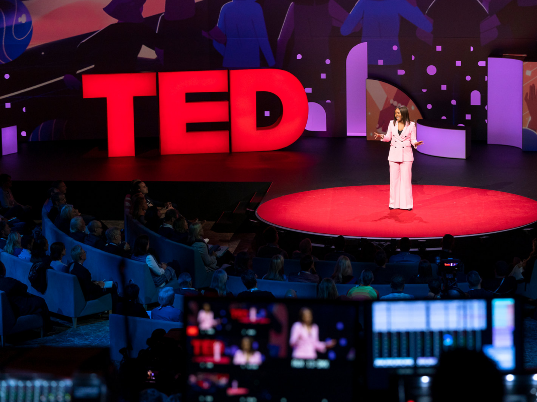What it resembles to participate in the TED conference, where participants pay $10,000 to find out the next concepts