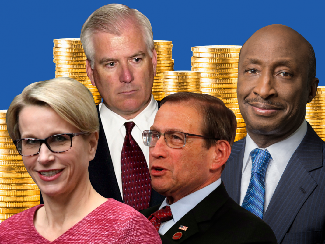 Health care CEOs make millions every year. Here's what the market's magnates made in2018