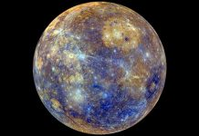 Mercury has an enormous strong inner core