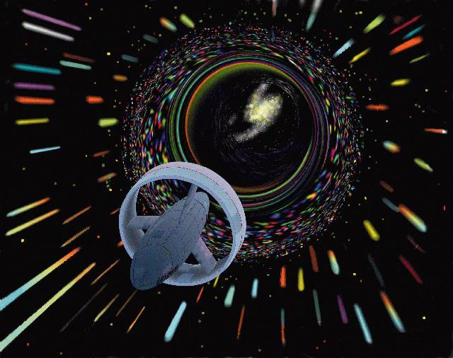 You Might Travel Through a Wormhole, however it's Slower Than Going Through Area