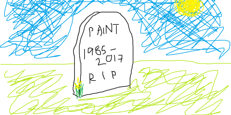 Crap artists rejoice! MS Paint is getting a last-minute reprieve