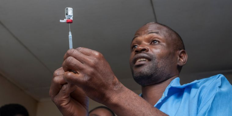 "Malaria vaccine rollout is a gamble: An ""imperfect"" tool ""utilized imperfectly"""
