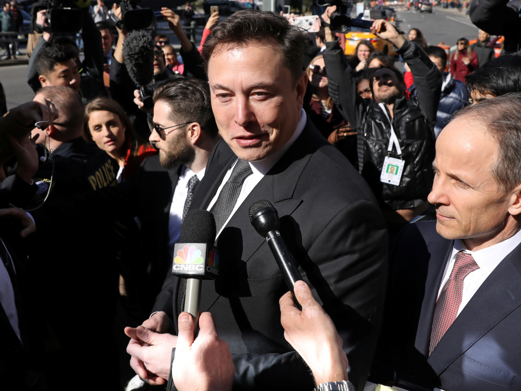 Elon Musk and the SEC reach contract needing him to have an 'knowledgeable securities legal representative' preapprove his tweets about Tesla's company (TSLA)