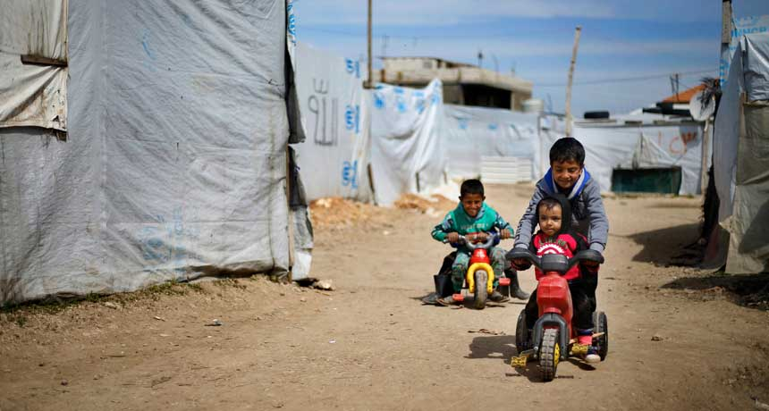 Why war's psychological injuries run much deeper for some kids and not others