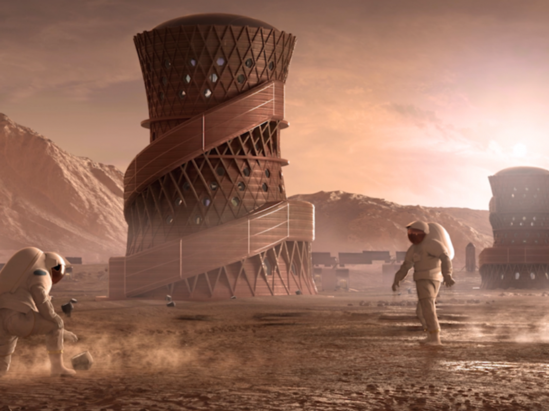NASA held a contest to create a habitable 3D-printed house on Mars– here's what that might appear like