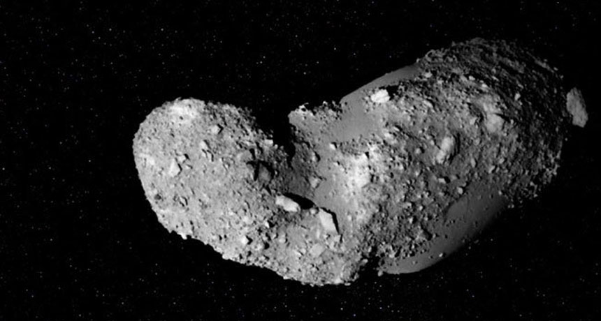 Water has actually been discovered in the dust of an asteroid believed to be bone-dry