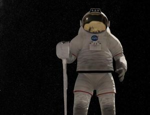 NASA spacesuit concept rockets hot-pants trend to the moon