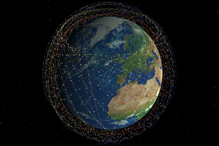 Starlink's Satellites Will be Orbiting at a Much Lower Elevation, Minimizing the Dangers of Area Scrap