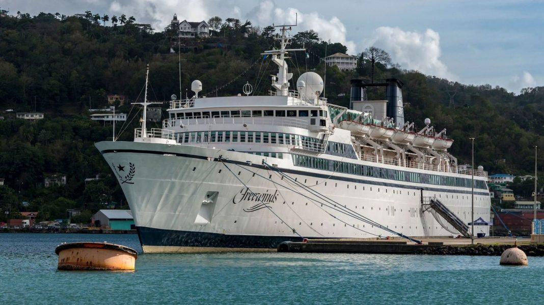 Scientology Cruise Liner Heads To Curaçao After St. Lucia Quarantines It For Measles