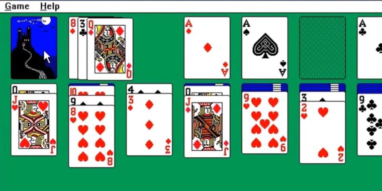 Windows Solitaire inducted into the World Computer Game Hall of Popularity