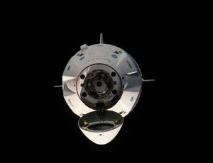 SpaceX makes a 5,500- pound shipment to ISS