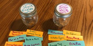 Develop 'Monotony Jars' With Your Kid
