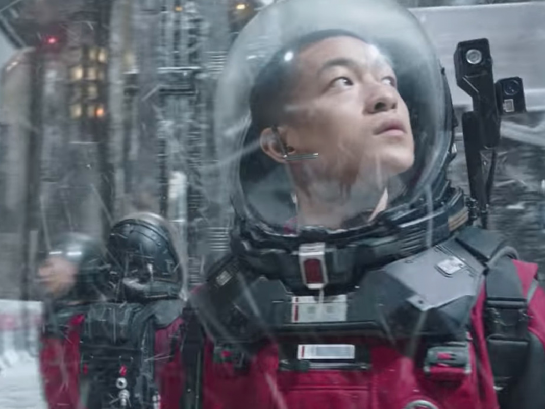 Netflix silently debuted sci-fi film 'The Wandering Earth,' the second-biggest Chinese smash hit of perpetuity