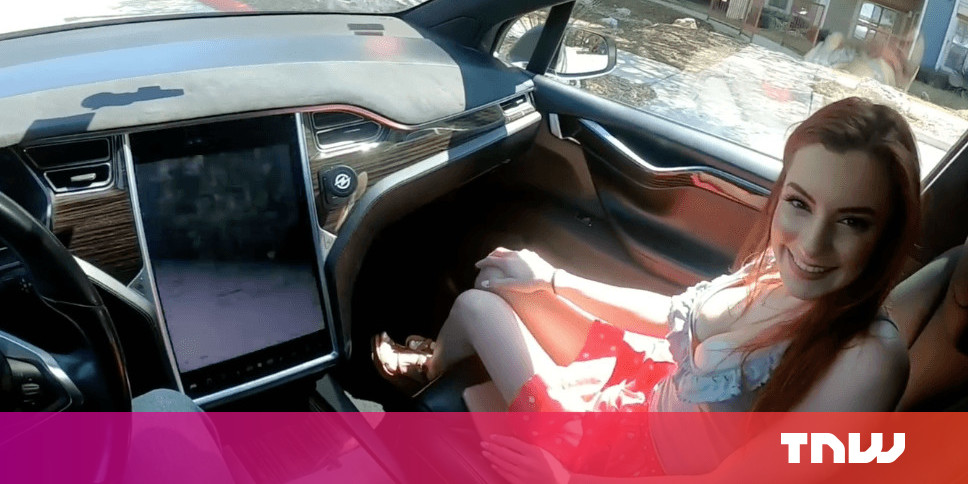 These morons shot a porno in an Autopilot-enabled Tesla and Elon Musk is worthy of some blame