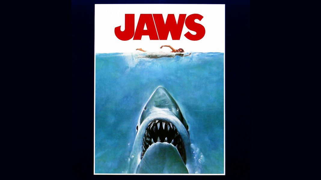 'Jaws' Film Poster Comes to Life, in Frightening Shark Picture