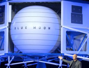 Jeff Bezos exposes prepare for the moon and beyond video