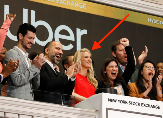 The lady who sounded Uber's IPO bell is Austin Geidt, whose life is the things of Valley legend (UBER)