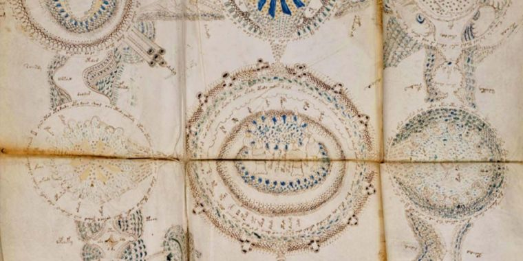No, somebody hasn't split the code of the mystical Voynich manuscript