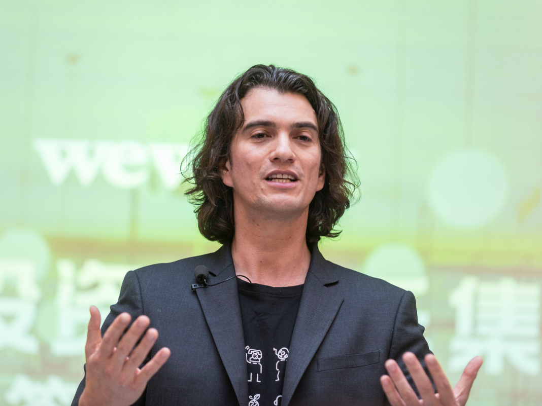 WeWork's CFO states it will produce $2 billion in earnings on the desks it's opened this year, and it reveals the value of the 'area as a service' design