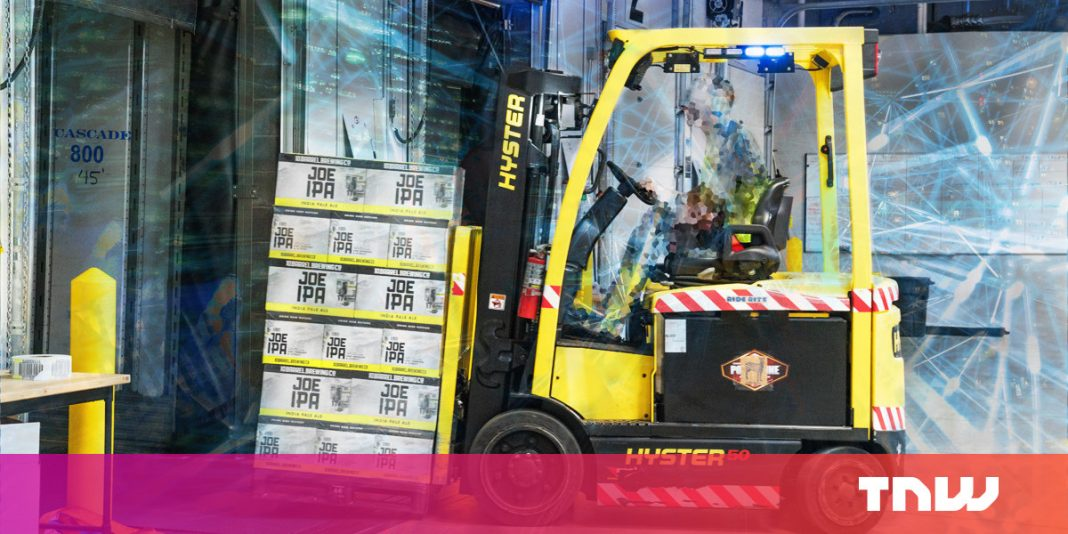 Driverless automobiles are years away, however self-driving forklifts have actually gotten here