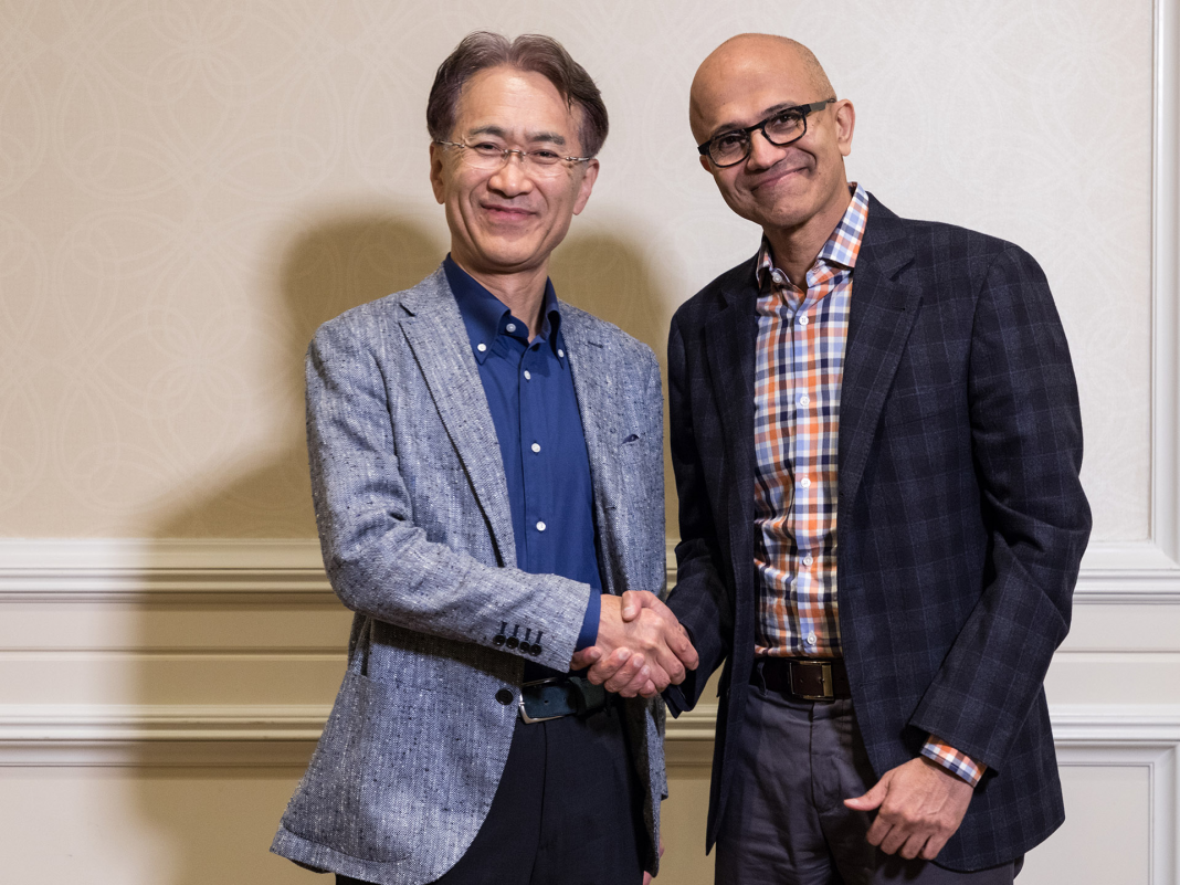 Microsoft and Sony's surprise video game streaming alliance is a surprise, and it raises an uneasy fact about the cloud wars (MSFT, SNE)