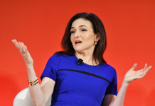 Sheryl Sandberg states 60% of male supervisors hesitate to have an individually conference with a female worker (FB)