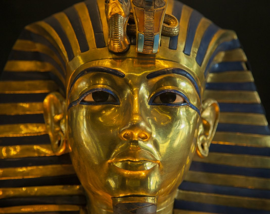 King Tut Used Ancient, Meteor-Blasted Yellow Glass