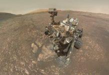 NASA Mars rover selfie displays Interest's drilling expertise