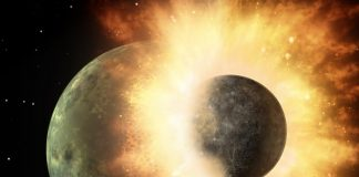 The Crash that Produced the Moon May Have Likewise Brought Water to the Early Earth