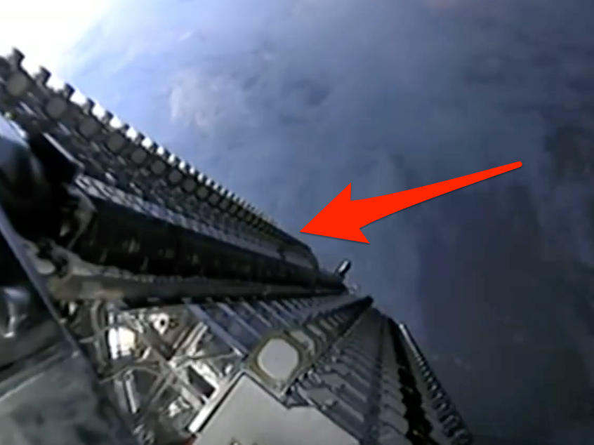 SpaceX simply released its very first 60 Starlink high-speed-internet satellites and tape-recorded a 'unusual' video of the maneuver