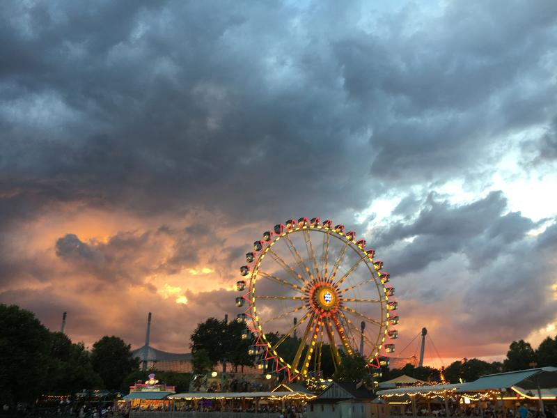 When Weather Condition Strikes at Amusement Parks
