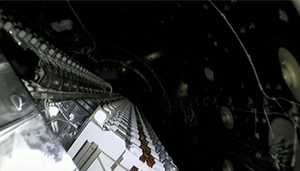 SpaceX releases very first batch of Starlink satellites video