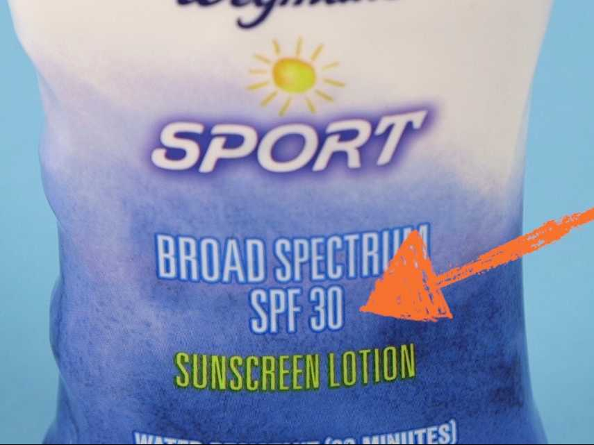 Here's what that number on every bottle of sun block really indicates