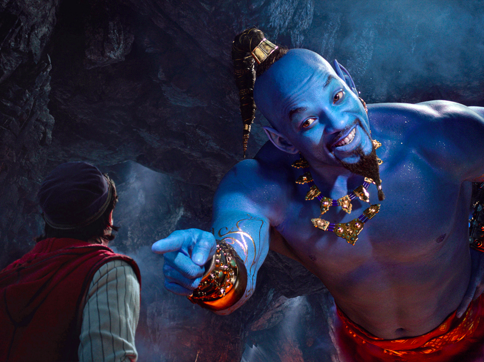 Disney's 'Aladdin' takes the leading weekend ticket office area