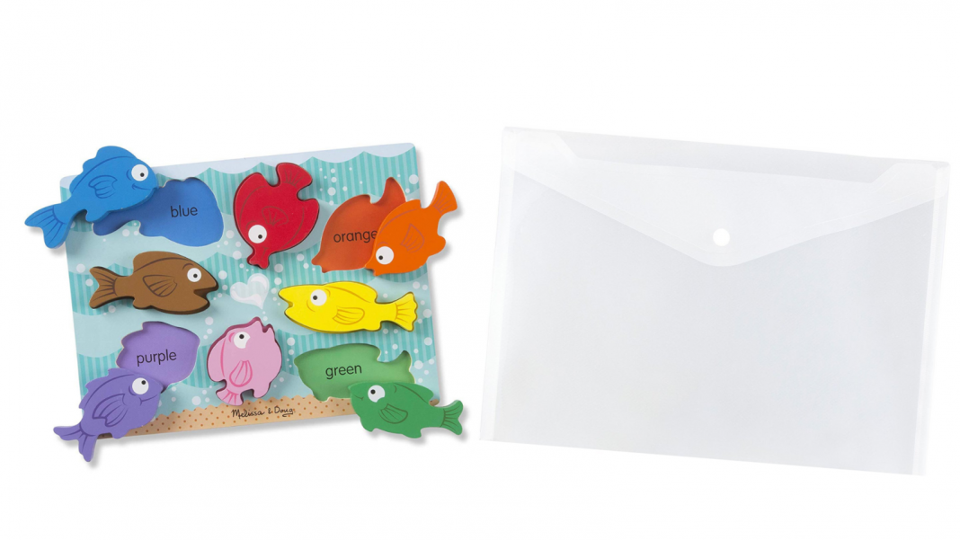 Shop Your Young child's Peg Puzzles in Clear Poly Envelopes