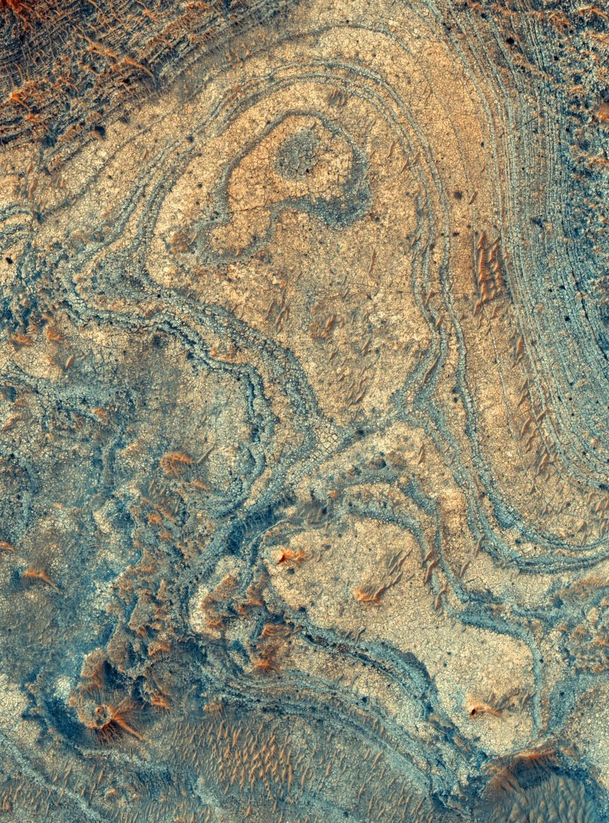 This Unusual Function on Mars was Most Likely the Outcome of an Ancient Volcanic Surge