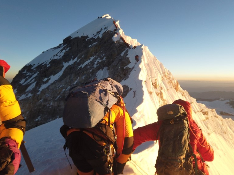 Dead bodies litter Mount Everest due to the fact that it's so harmful and pricey to get them down