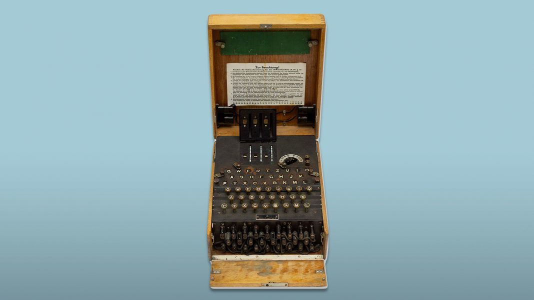 Nazi Code-Making Enigma Device Is Up for Auction