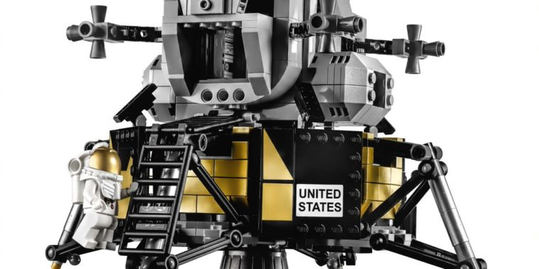 LEGO launched a brand-new Apollo 11 Lunar Lander, and it looks quite terrific