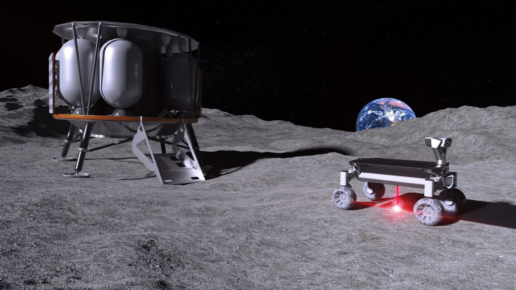 MOONRISE: Melting lunar regolith with lasers to develop structures on the Moon