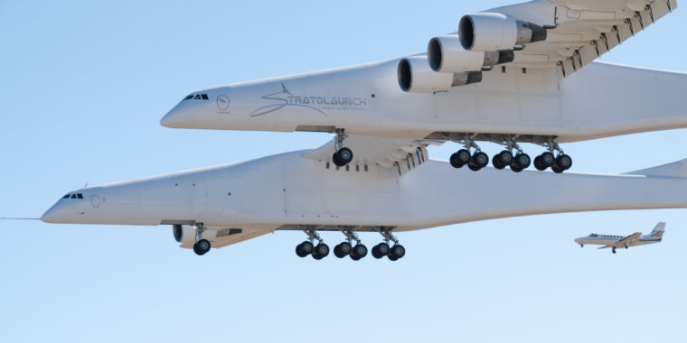The world's biggest aircraft might be grounded after a single flight