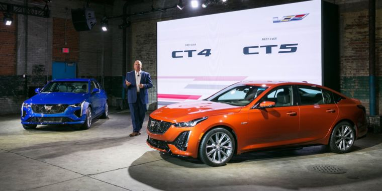 Cadillac revamps its sportiest lineup, includes brand-new CT4-V and CT5-V sedans