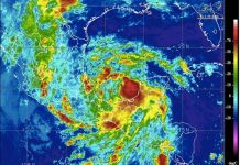 Where Is A Cyclone Likely To Kind In June And Why?