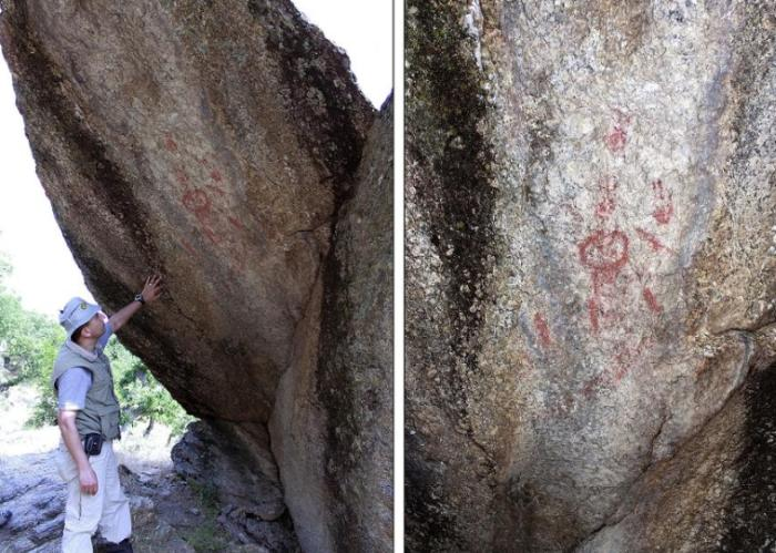 4,700- Years-Old Rock Art May Program An Appearing Volcano