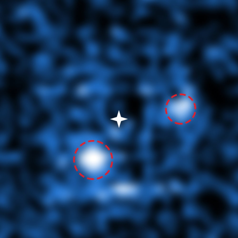 Astronomers Area Twin Planets Carving Holes in a Brand-New Planetary System
