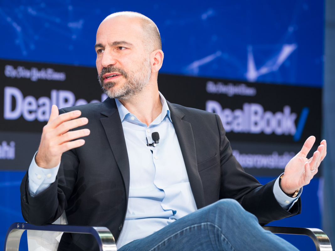 Goldman Sachs states Uber's organisation design is among its greatest threats (UBER)