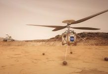 This Mars helicopter will picture the Purple Planet from the skies
